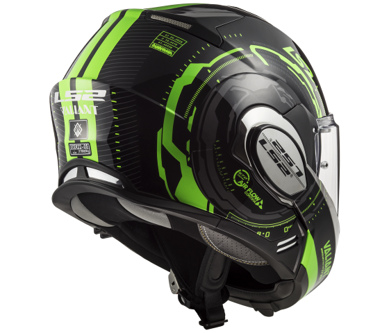 FF399 VALIANT NUCLEUS Black Glow Green