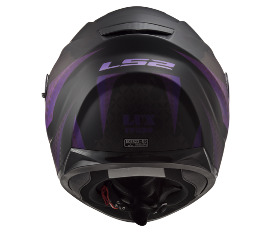 FF320 STREAM EVO LUX Matt Black Pink