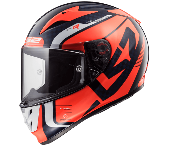 FF323 Arrow C EVO STING Blue Fluo Orange