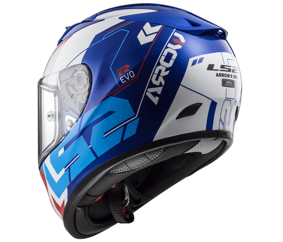FF323 Arrow R EVO TECHNO White Blue