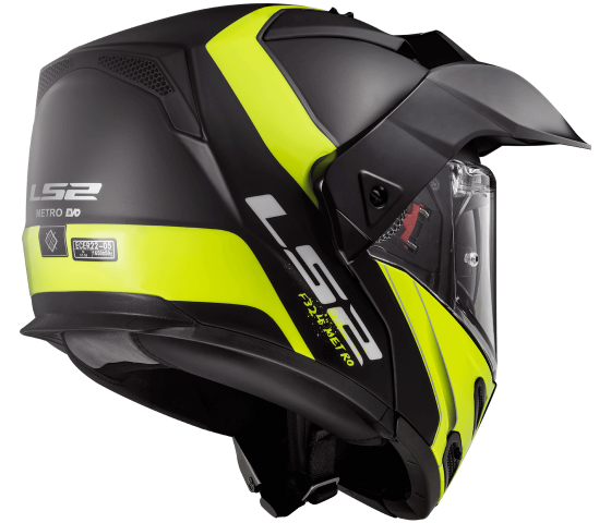 FF324 Metro EVO RAPID Matt Black H-V Yellow