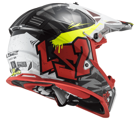 MX437 Fast EVO CRUSHER Black Red