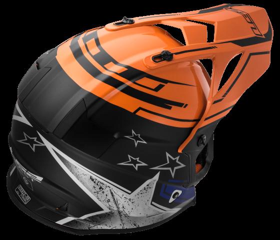 MX437 Fast CORE Black Orange