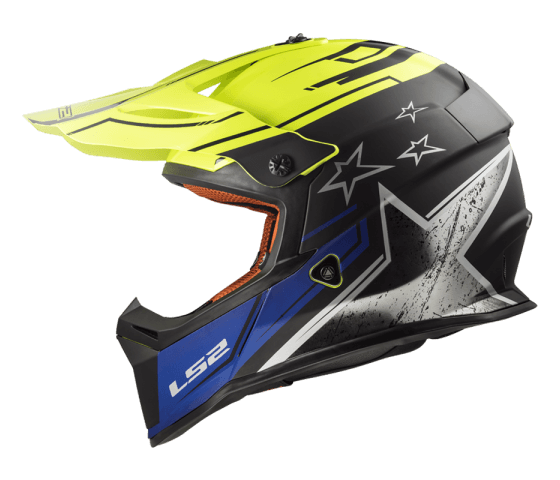 MX437 Fast CORE Matt Black H-V Yellow