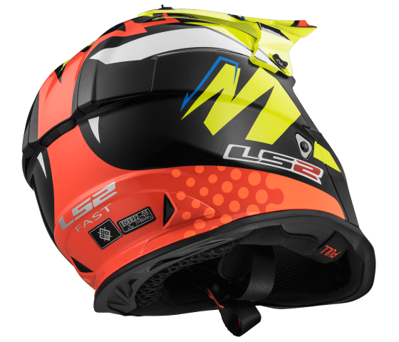 MX437 Fast VOLT Black Yellow Orange