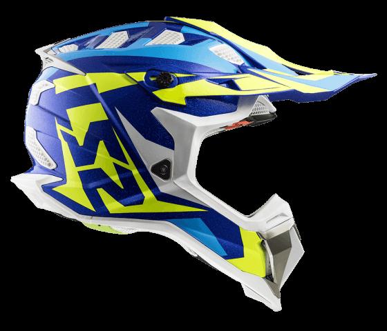 MX470 Subverter NIMBLE White Blue H-V Yellow