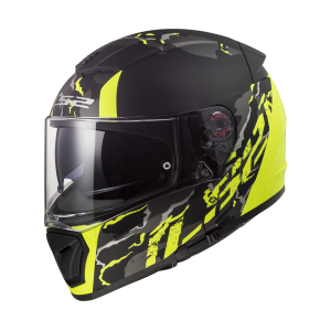 FF390 BREAKER FELINE Matt Black H-V Yellow