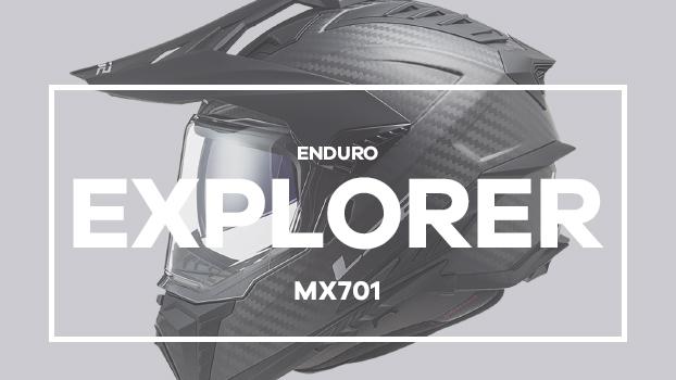 Video - MX701 Explorer C CARBON Focus Matt Titanium H-V Yellow